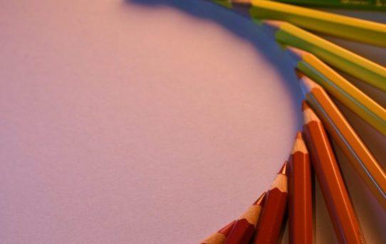 fotografare le matite colorate