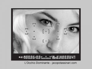 la composizione l'occhio dominante