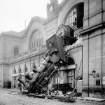 hipa 2019 - fotografia documentarista - incidente ferroviario gare Montparnasse 1895